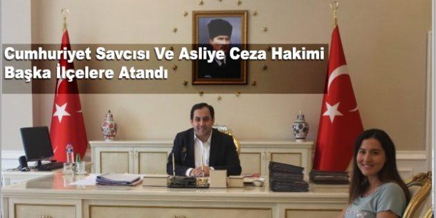 Darende Cumhuriyet Savcısı ve Asliye Ceza Hakimi Başka İlçelere Atandı