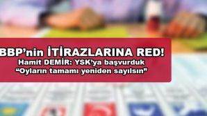 Büyük Birlik Partisi'nin Seçim Sonuçlarına İtirazı Reddedildi